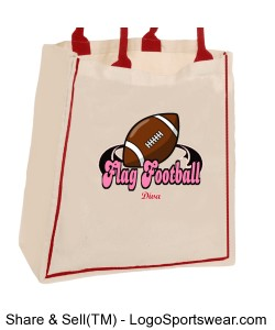 Breast Cancer Awareness Rack Pack Tote Design Zoom