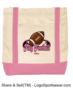 Breast Cancer Awareness Tote Design Zoom